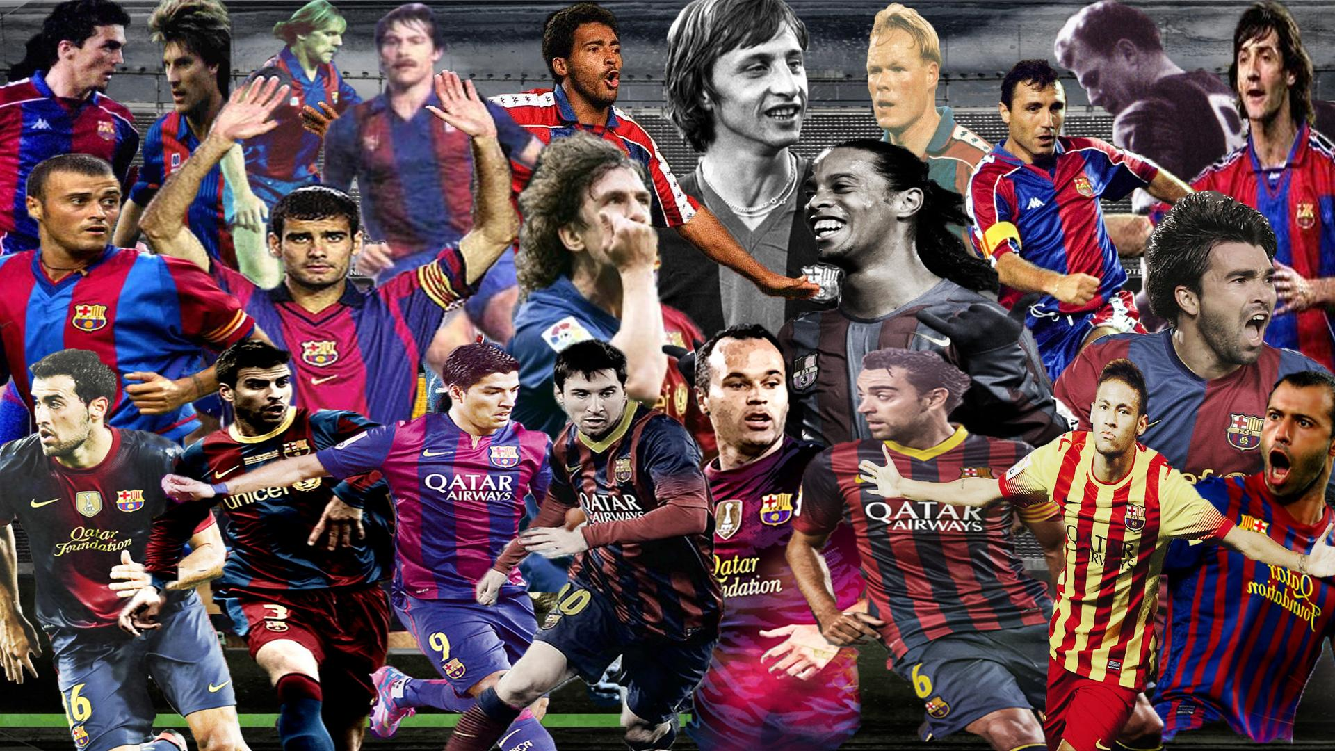 the top fc barcelona players of all time the top fc barcelona players of all time