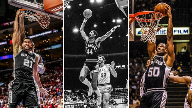The Top 10 San Antonio Spurs Players of All-Time