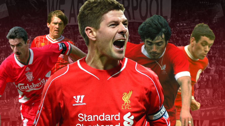 The Top Liverpool Players of All-Time