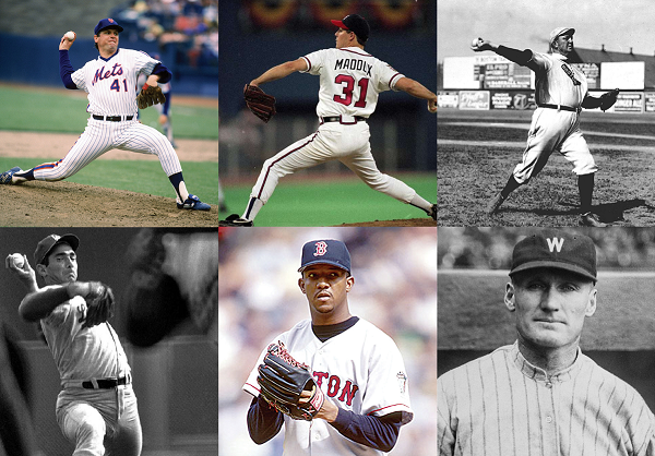 The Top 10 Greatest Starting Pitchers of All-Time
