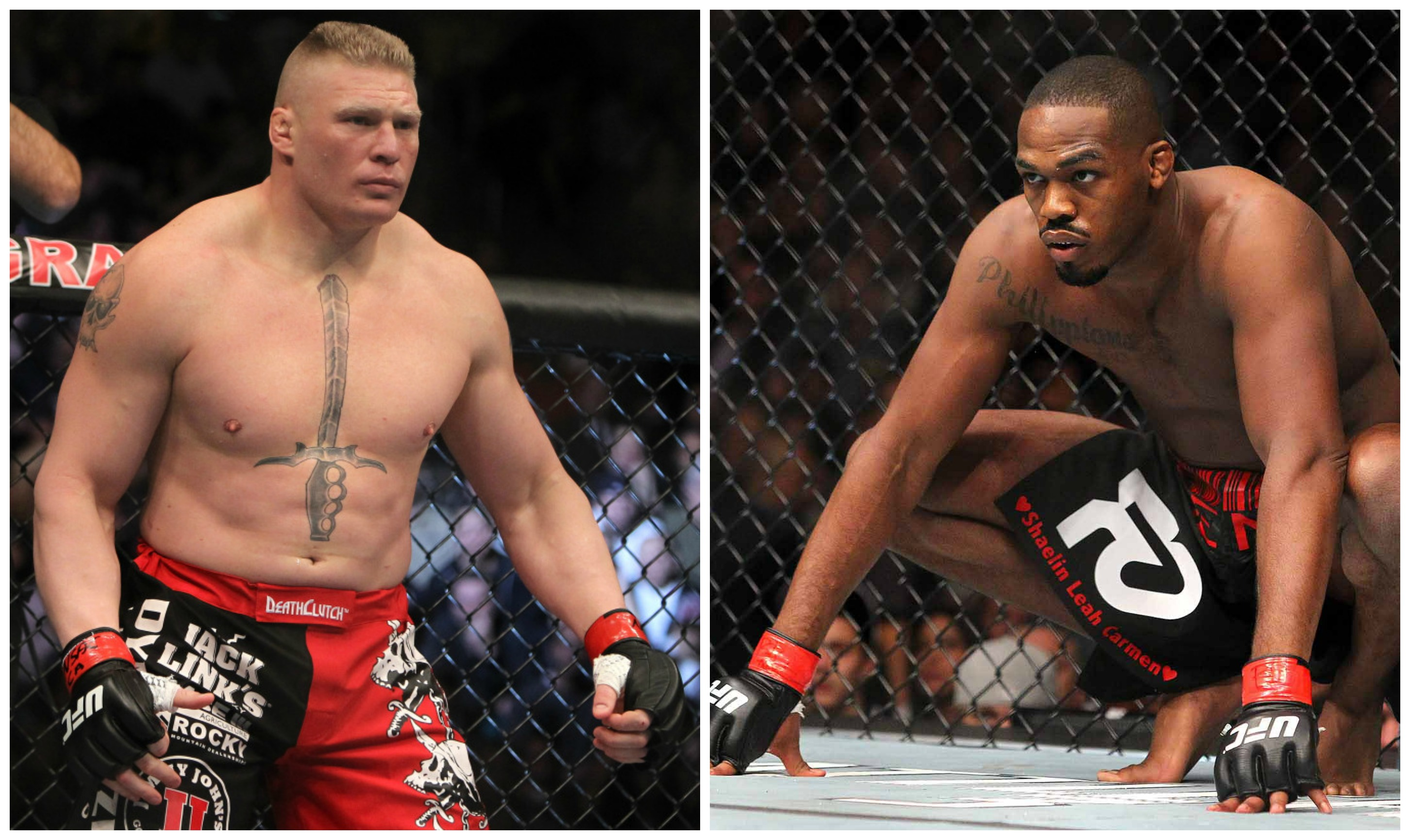 Jon Jones Says He'd Love To Fight Brock Lesnar