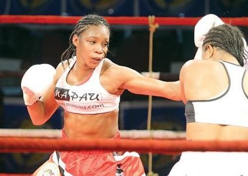 6eb9d592eb4d Photo: newsday.co.tt. Giselle Salandy is BoxRec's number one female light  middleweight boxer of ...
