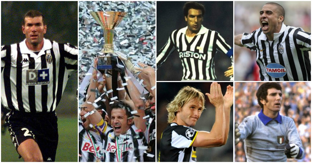 The Top Juventus Players of All-Time
