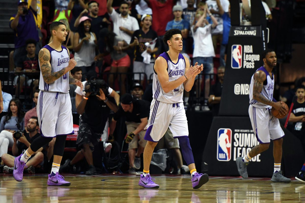 Must've Been the Shoes: Lonzo Ball Breaks Out In Nike