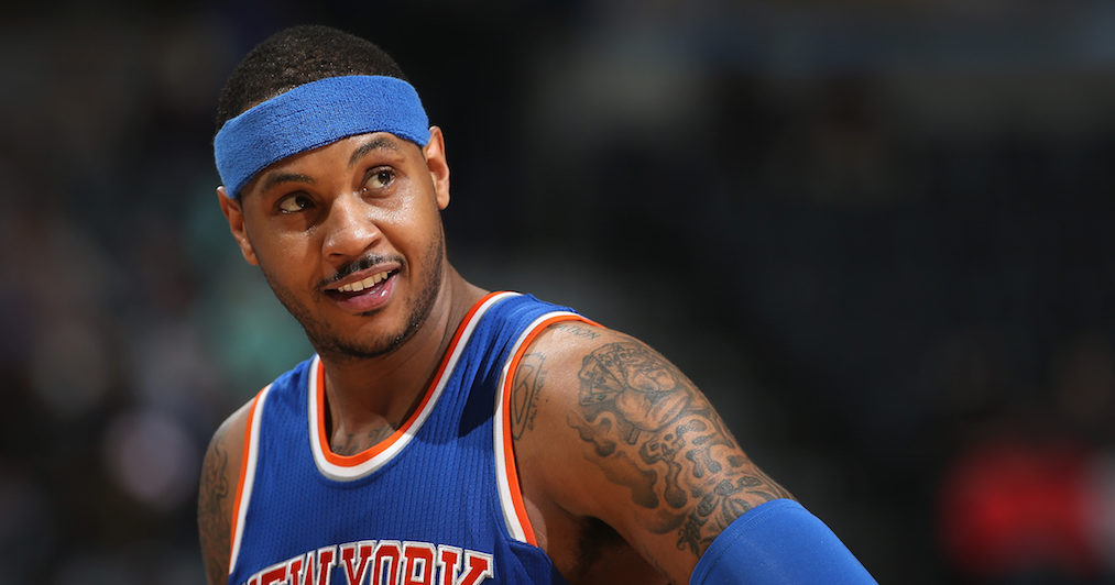 Is Carmelo Anthony Headed For A Mid-Season Buyout?