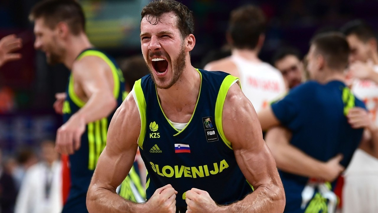 Dragic Was Magic For Slovenia in 2017 FIBA Eurobasket
