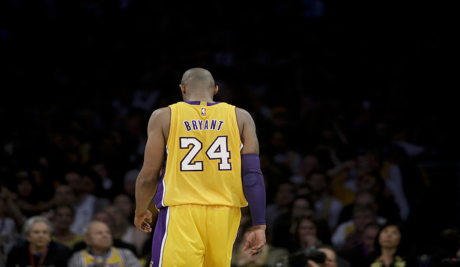 best service cedad 0b25a Twice The Honor: Lakers To Retire Both Kobe Jersey Numbers