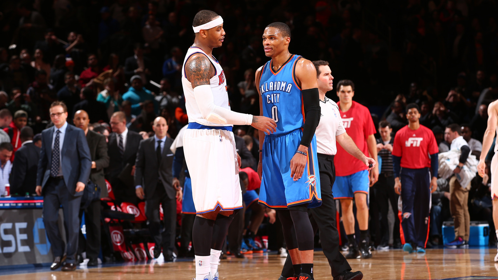 Melo Drama is Over, Carmelo Goes To Thunder