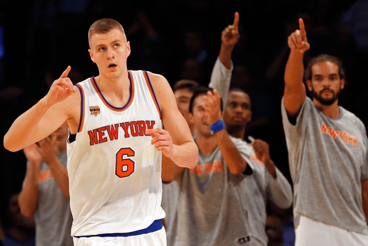 With Melo Gone, Porzingis Ready For The Challenge