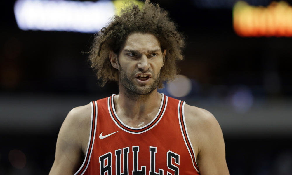 Robin Lopez Reveals Chicago Bulls' Luck Charm