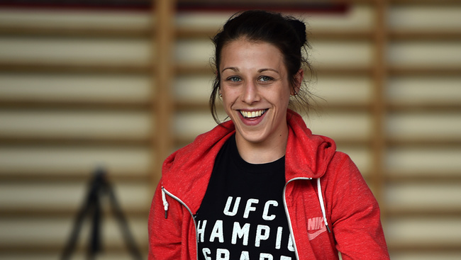 Joanna Jedrzejczyk Says She Didn't Tap Out Against Rose Namajunas
