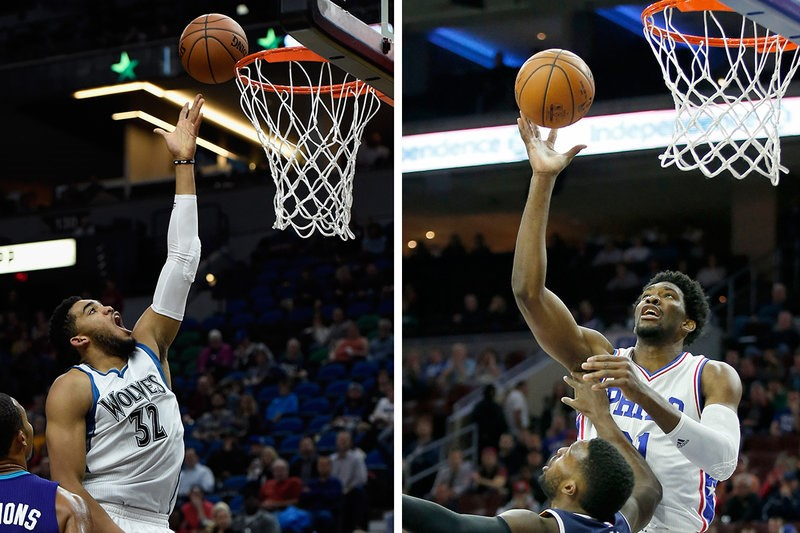 Who Would You Build Your Team Around:  Karl Anthony Towns or Joel Embiid?