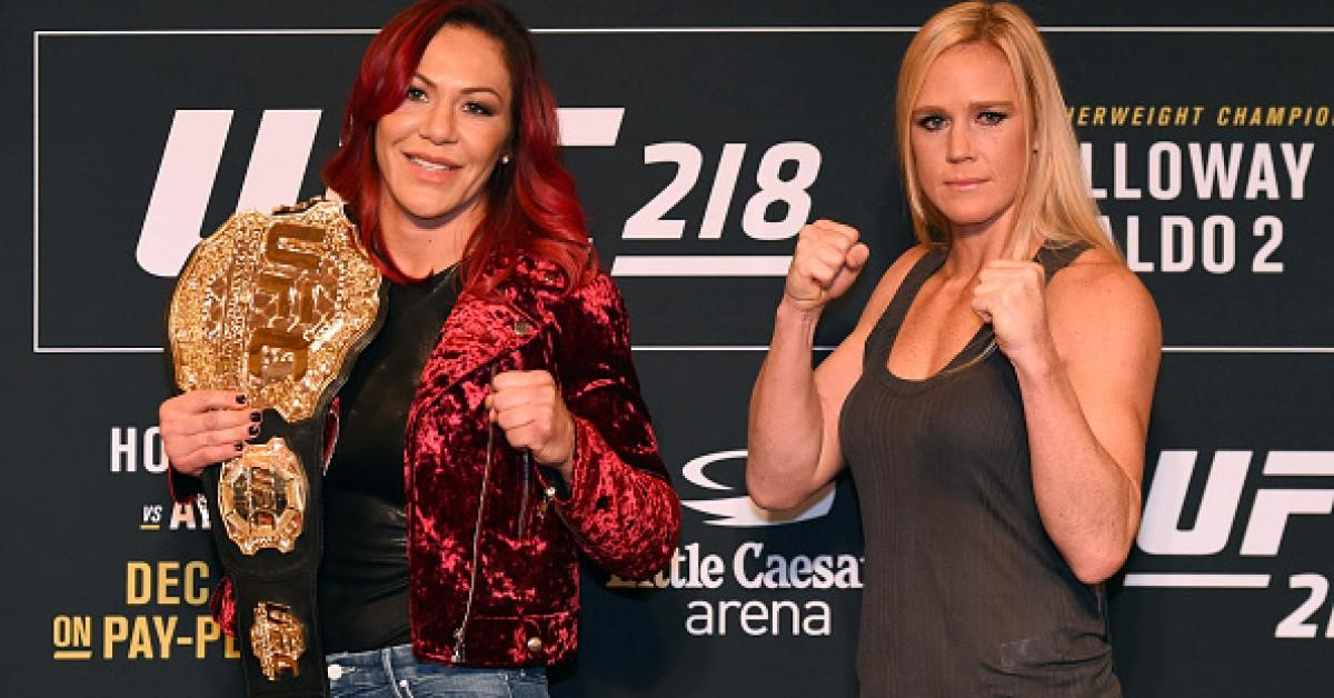 Can Holly Holm Pull Off Another Big Upset?