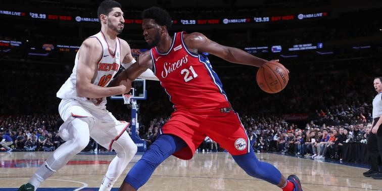 Joel Embiid Was The Star of Christmas Day