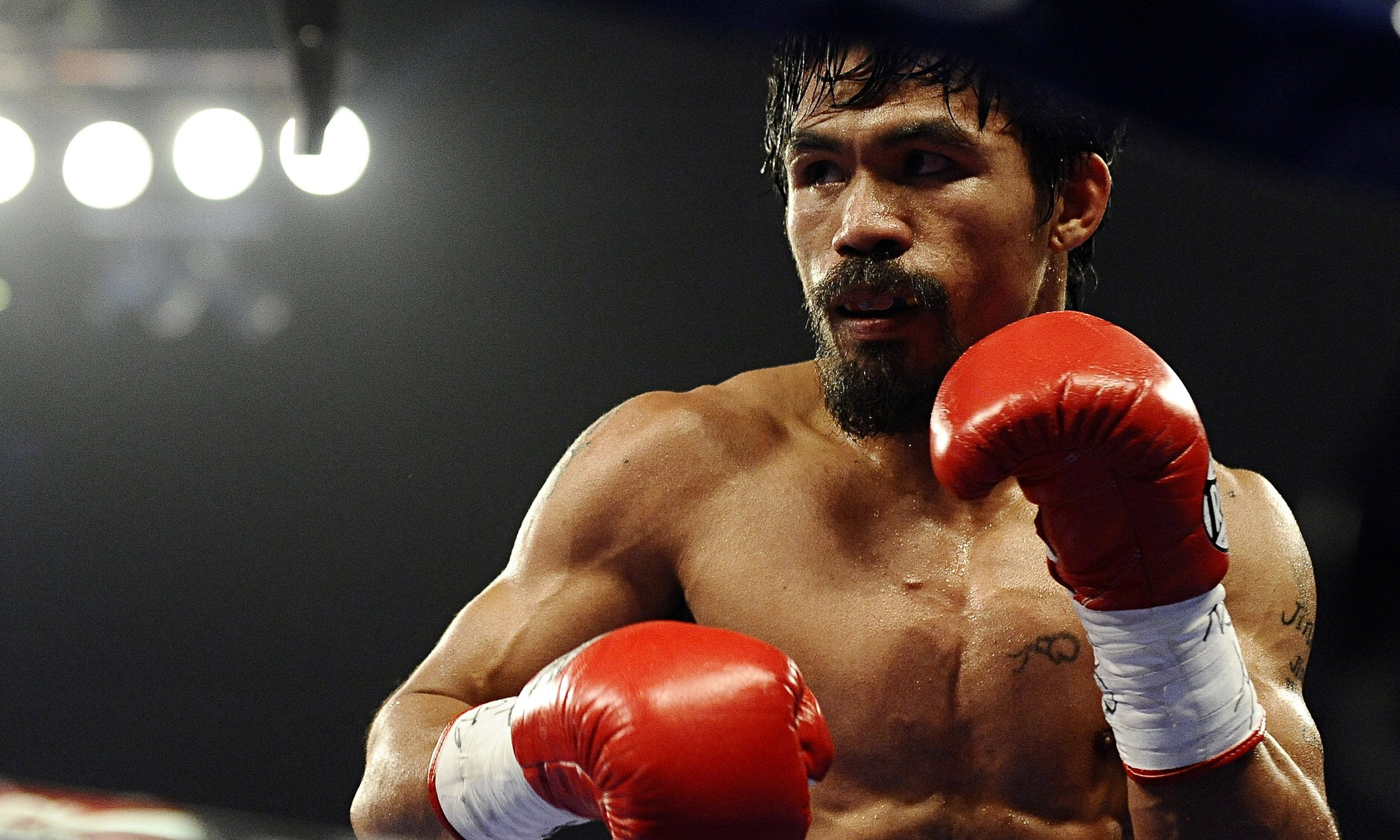 Manny Pacquiao Announces That He's Fighting Lucas Matthysse in Malaysia