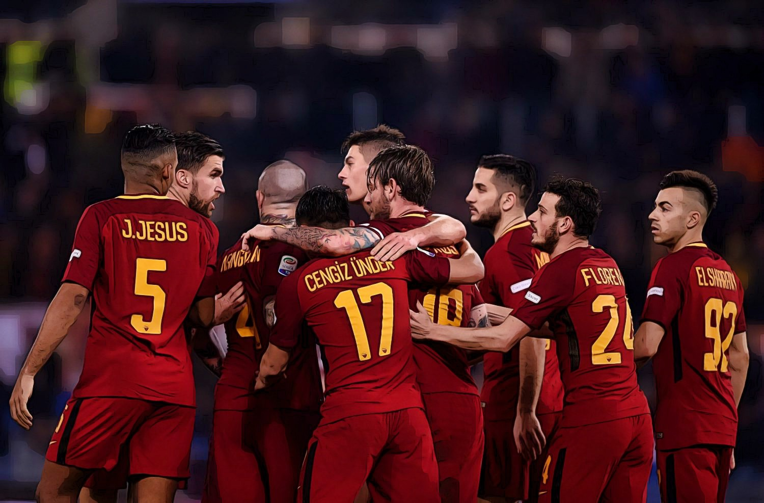 Roma Defeats Barcelona 3-0, Advances to Semi-Finals with Liverpool