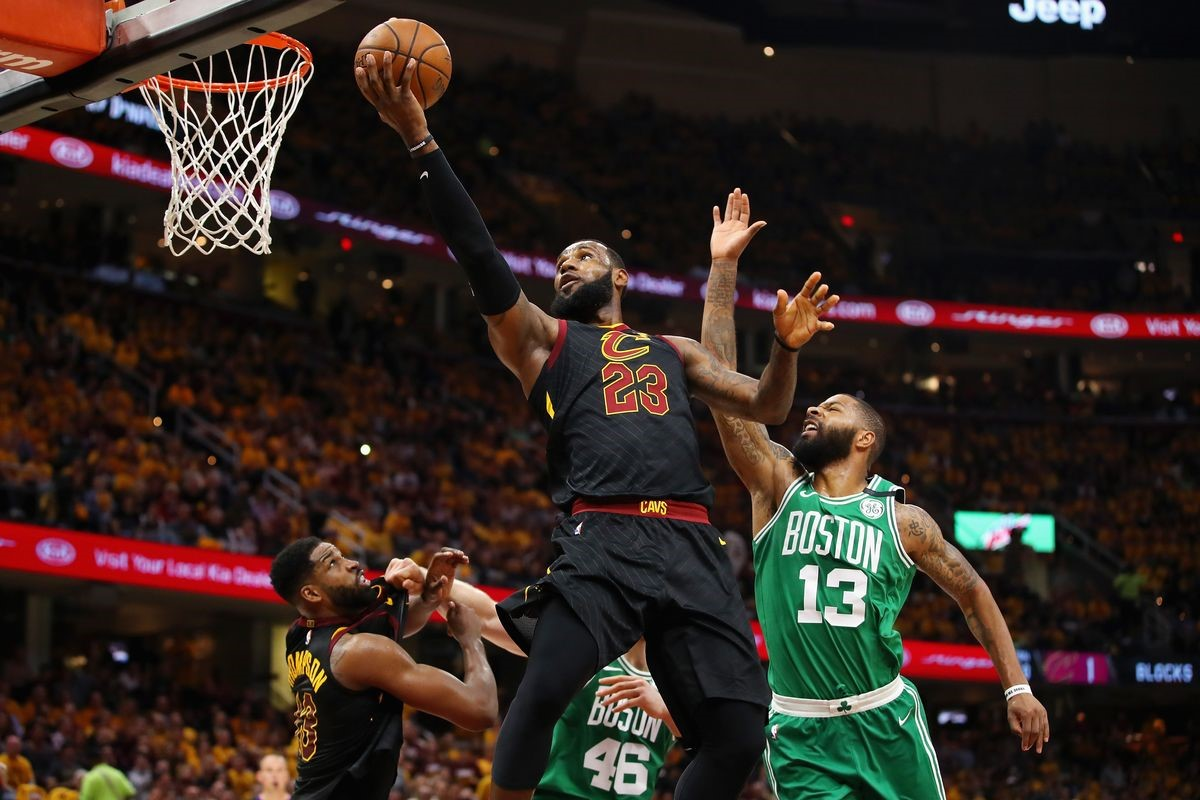 Day 31 of the NBA Finals: LeBron Gets Help, Cavs Blast Celtics