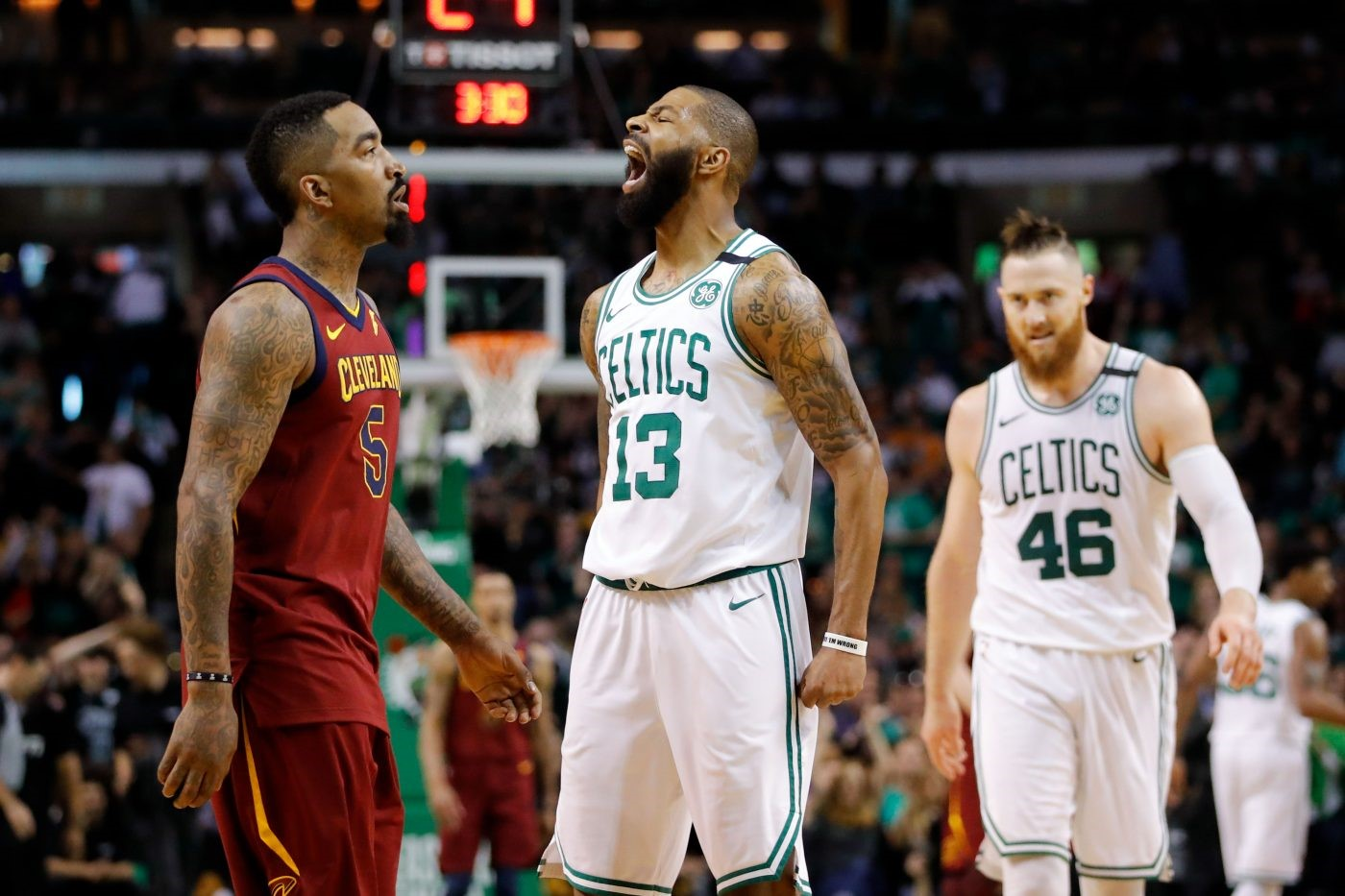Day 27 of The NBA Playoffs: Celtics Rout Cavs With Big First Quarter Run