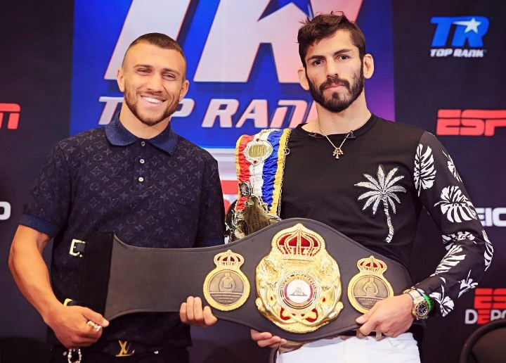 Lomachenko vs Linares on May 12th Is A Can't Miss Fight