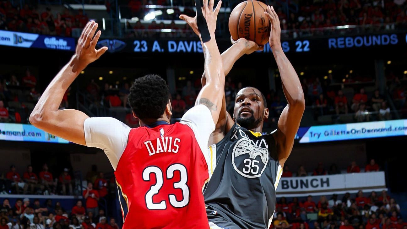 Day 23 Of The NBA Playoffs: Durant Takes Charge For Warriors, CP3 Shines For Rockets