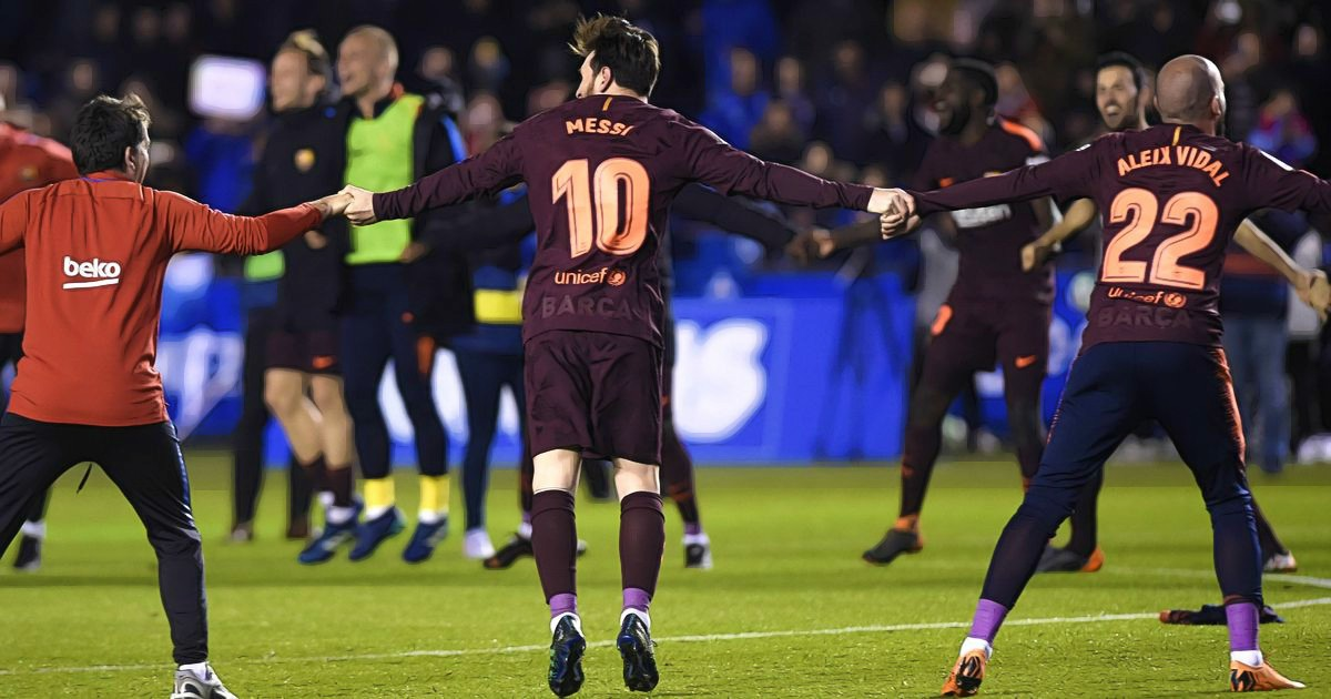 Barcelona Wins 25th La Liga Title