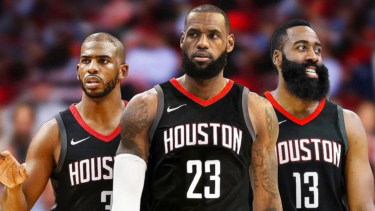 Can The Houston Rockets Realistically Land LeBron James This Summer?