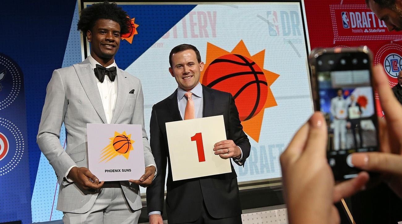 Five Trades The Phoenix Suns Would Consider For Their  #1 Pick