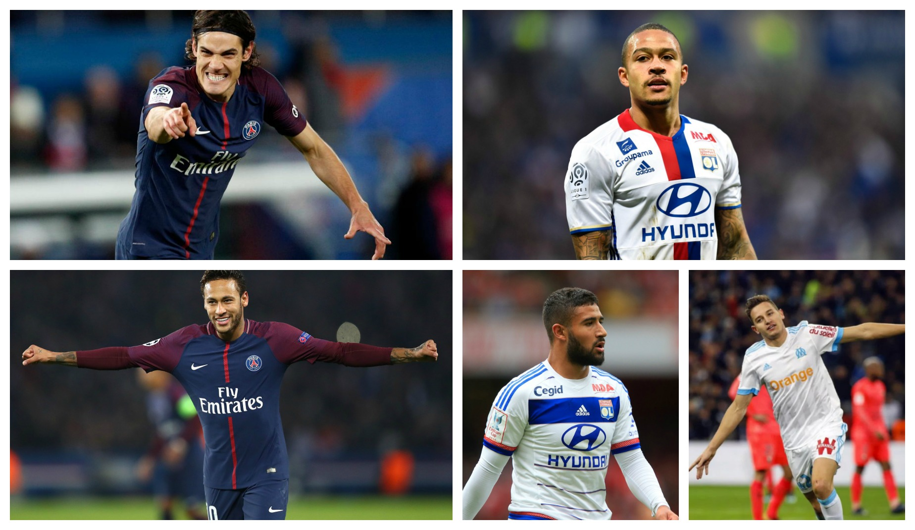 Top Scorers of the 2017-18 Ligue One