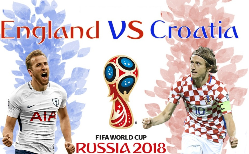 England vs Croatia in the World Cup Semis, Who Will Reign Supreme?