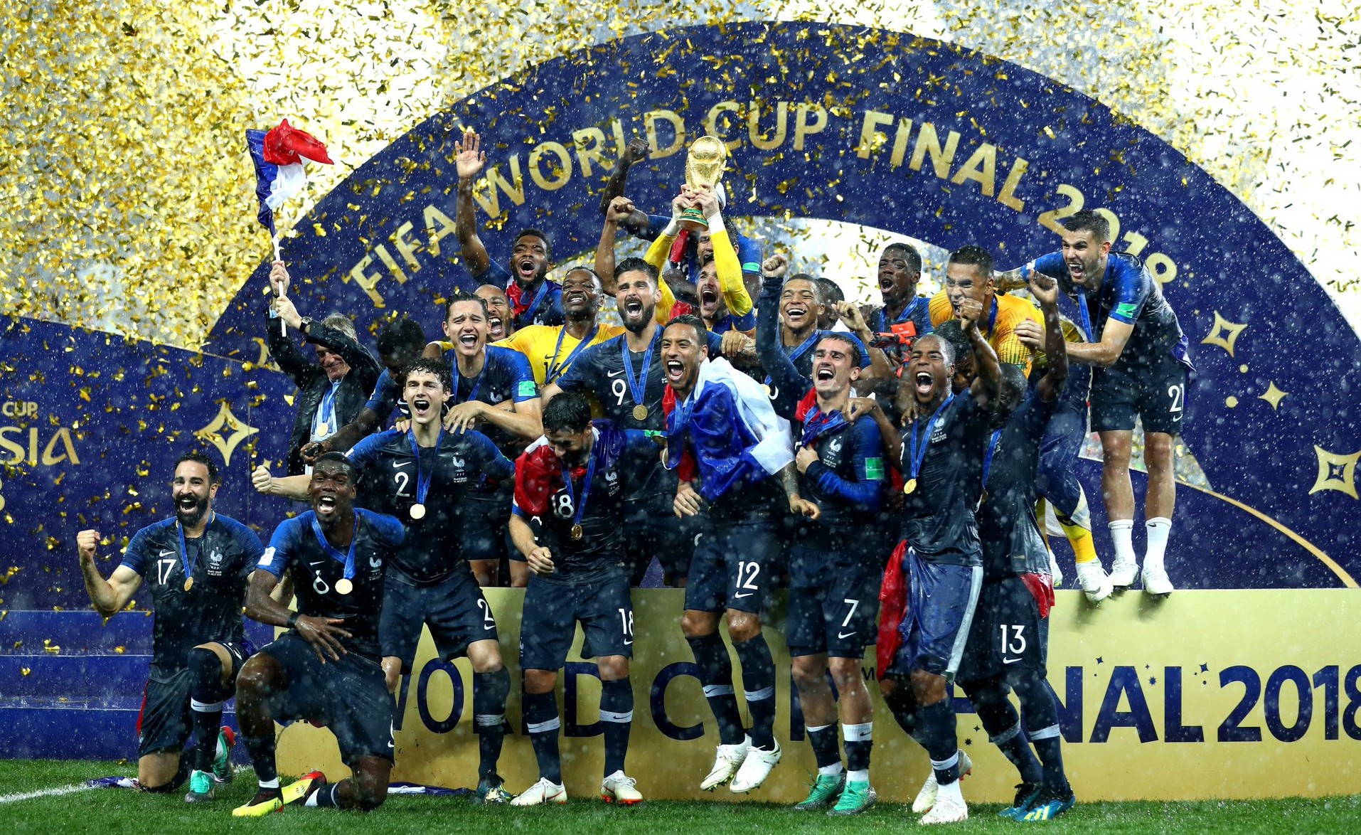 France Dominates the World Cup, What it Means for the French