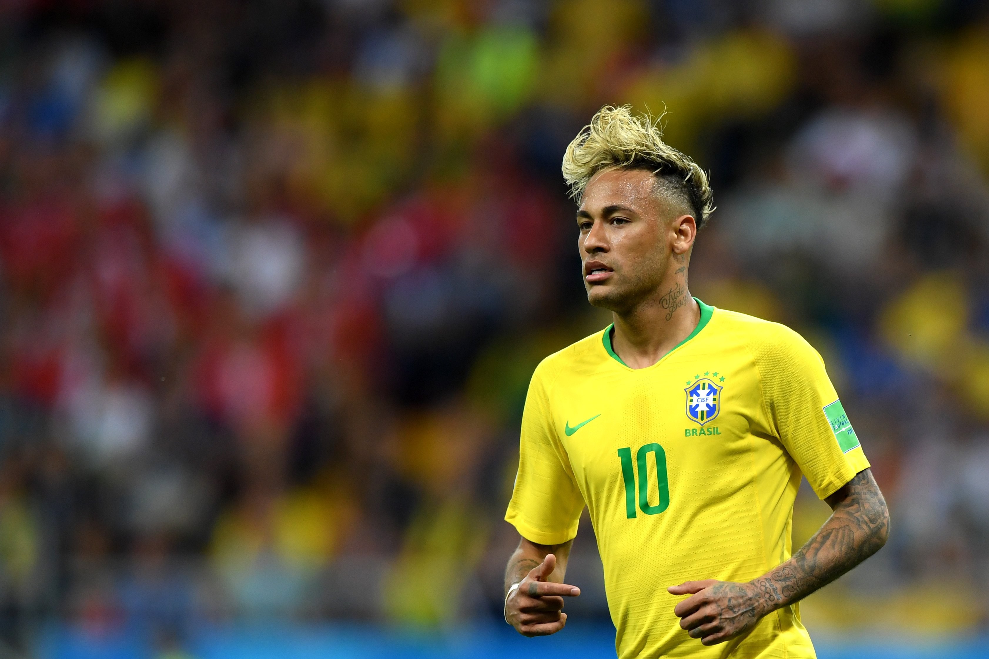 Neymar After His Failed World Cup Attempt