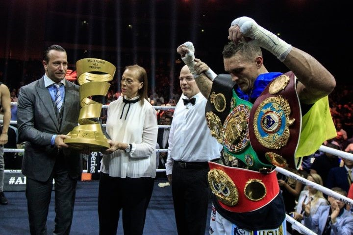 Oleksandr Usyk Is Boxing's Latest Undisputed Champion With WBSS Win
