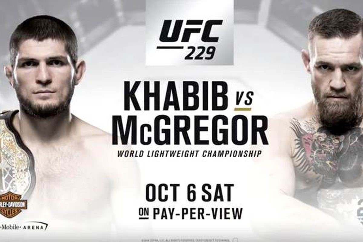 UFC 229 Almost Sold Out In Three Minutes