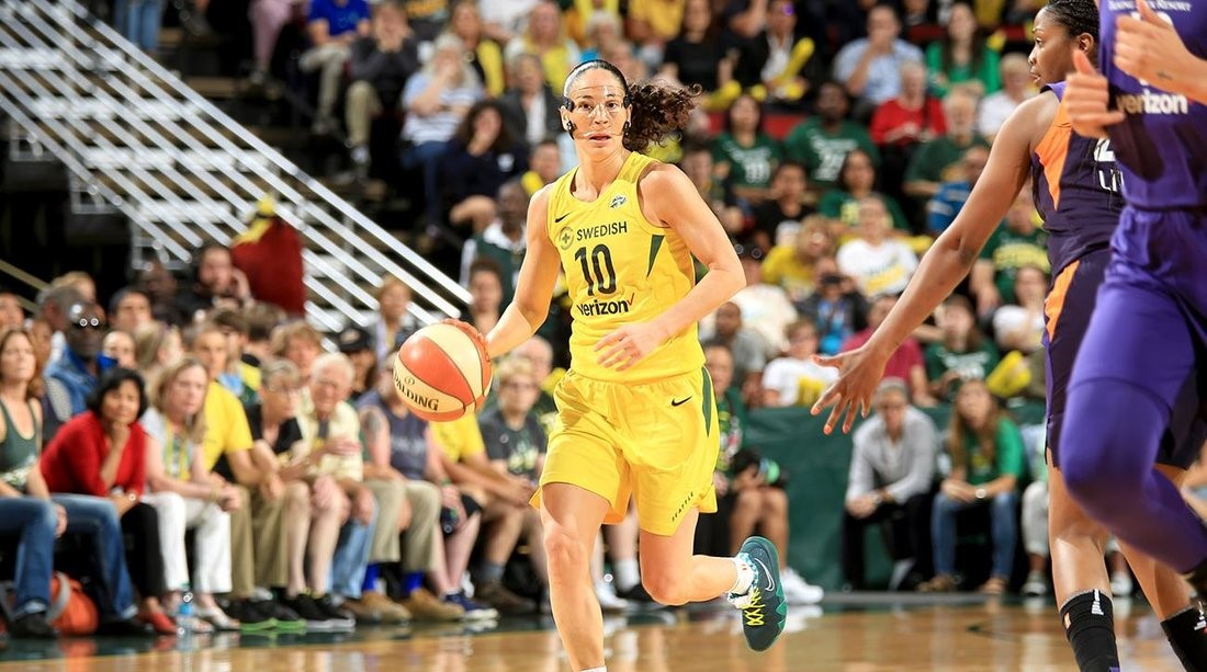 Sue Bird Ends Diana Taurasi's 13-0 Record in Winner Take All Games