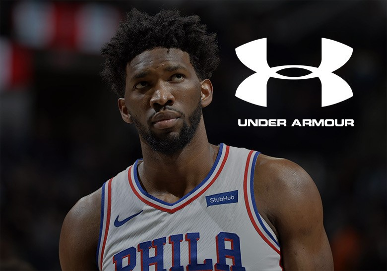 Joel Embiid Is The Newest Under Armour Endorser