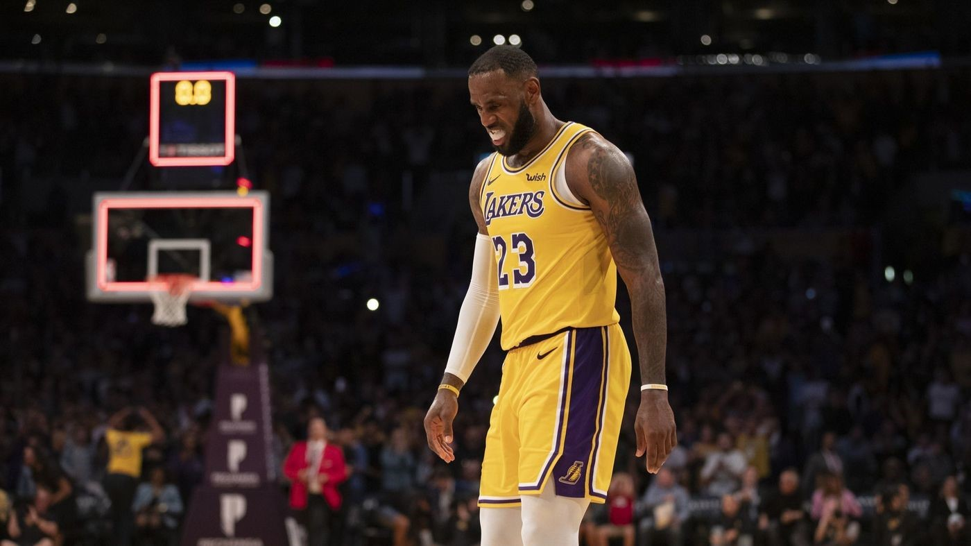 LeBron On the Lakers 0-3 Start: It's A Process