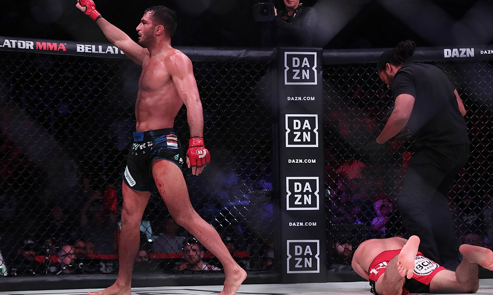 Gegard Mousasi Mauls Rory MacDonald in Bellator's Fight of Champions