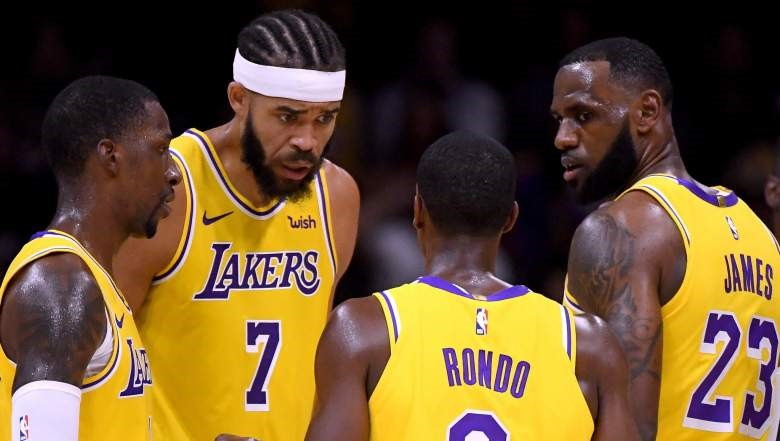 Lakers Fail Miserably In LeBron's First Game In Purple And Gold