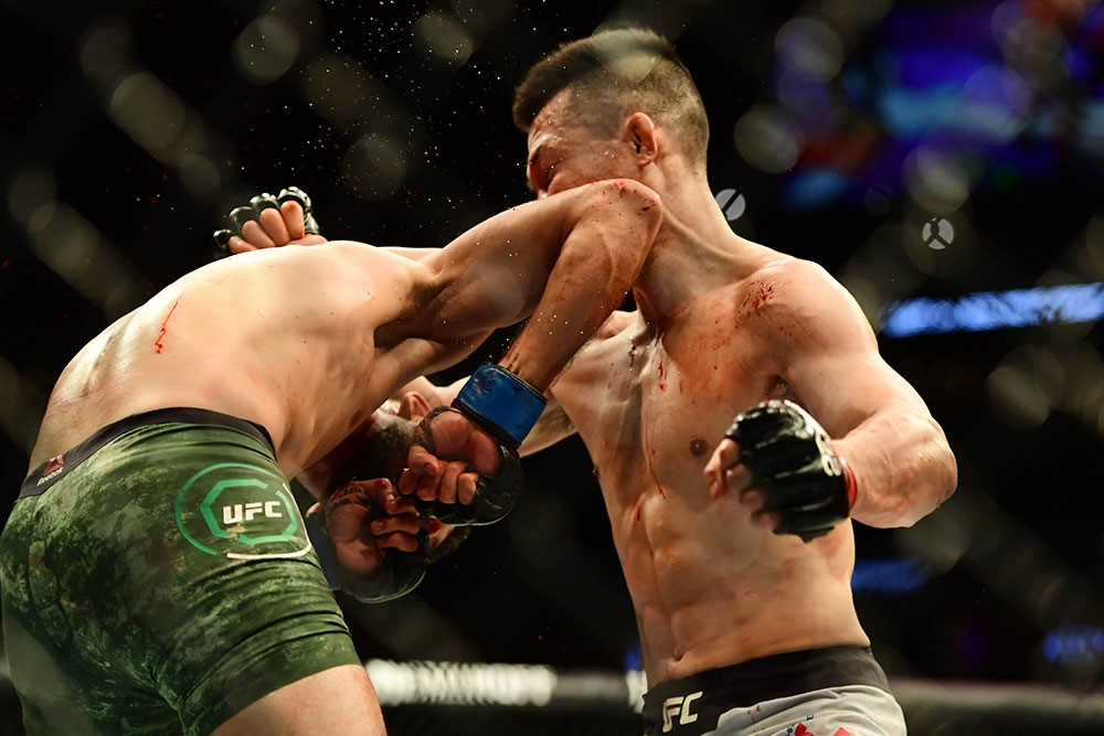 Yair Rodriguez Delivers The Craziest Finish Ever at UFC Fight Night 139