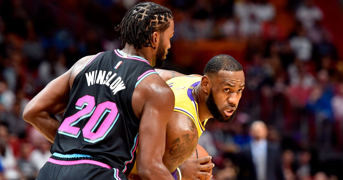 LeBron Drop 51 in First Game As Laker in Miami