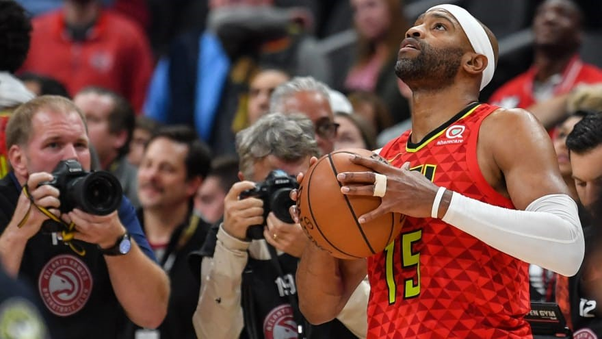 Vince Carter Becomes 22nd Player To Score 25,000 Career Points In The NBA