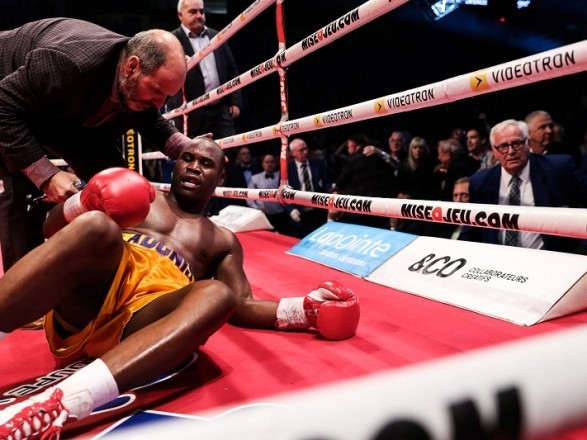 Adonis Stevenson Hospitalized After Suffering Knockout Loss