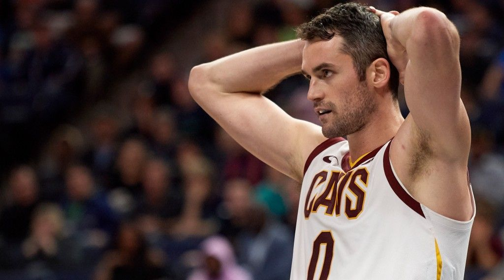 Cleveland Cavaliers' Kevin Love still unsure on return