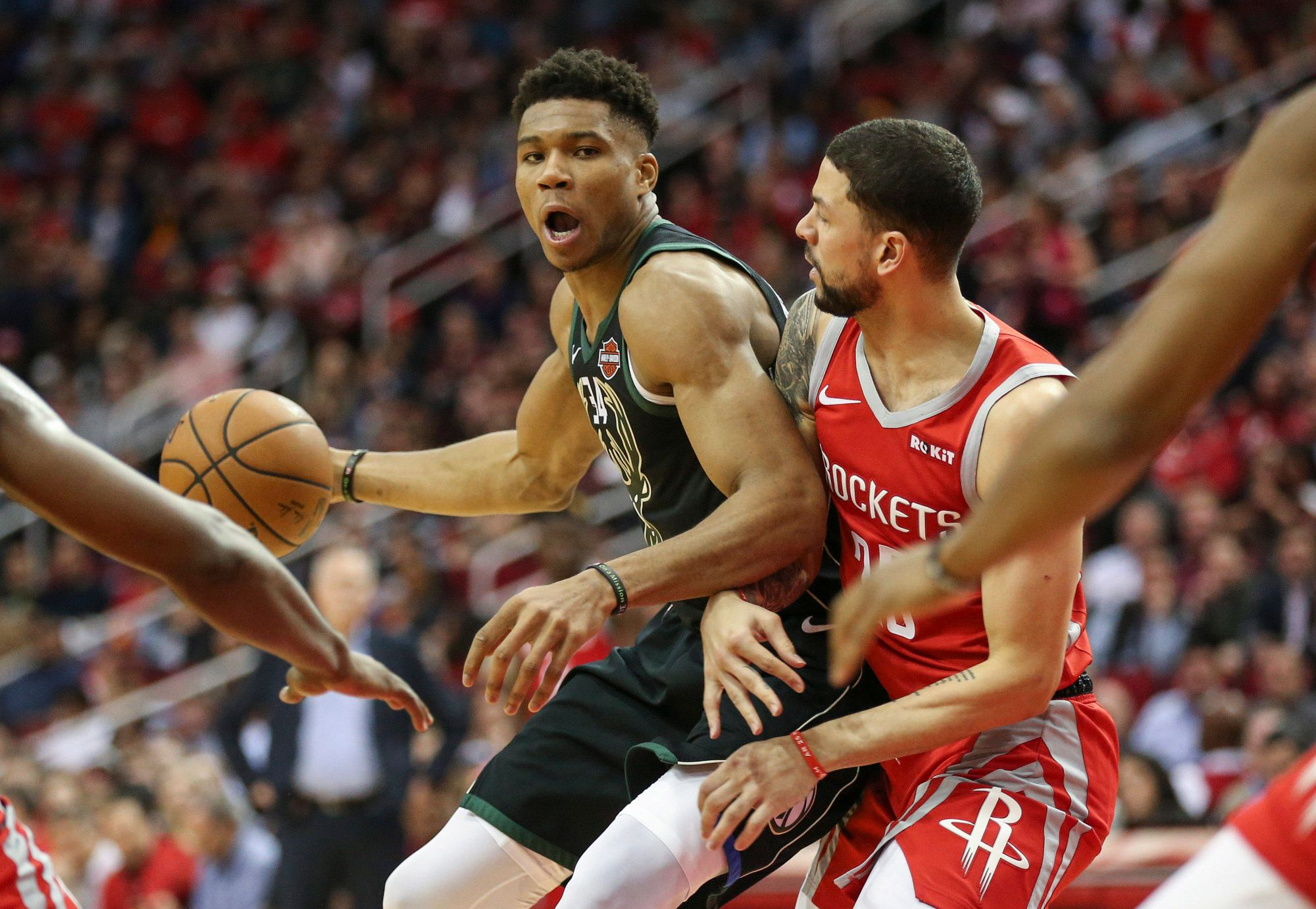 NBA Daily Rundown: Giannis lifts Bucks in Houston, Kuzma explodes for 41, and Wizards draw upset axe on 76ers
