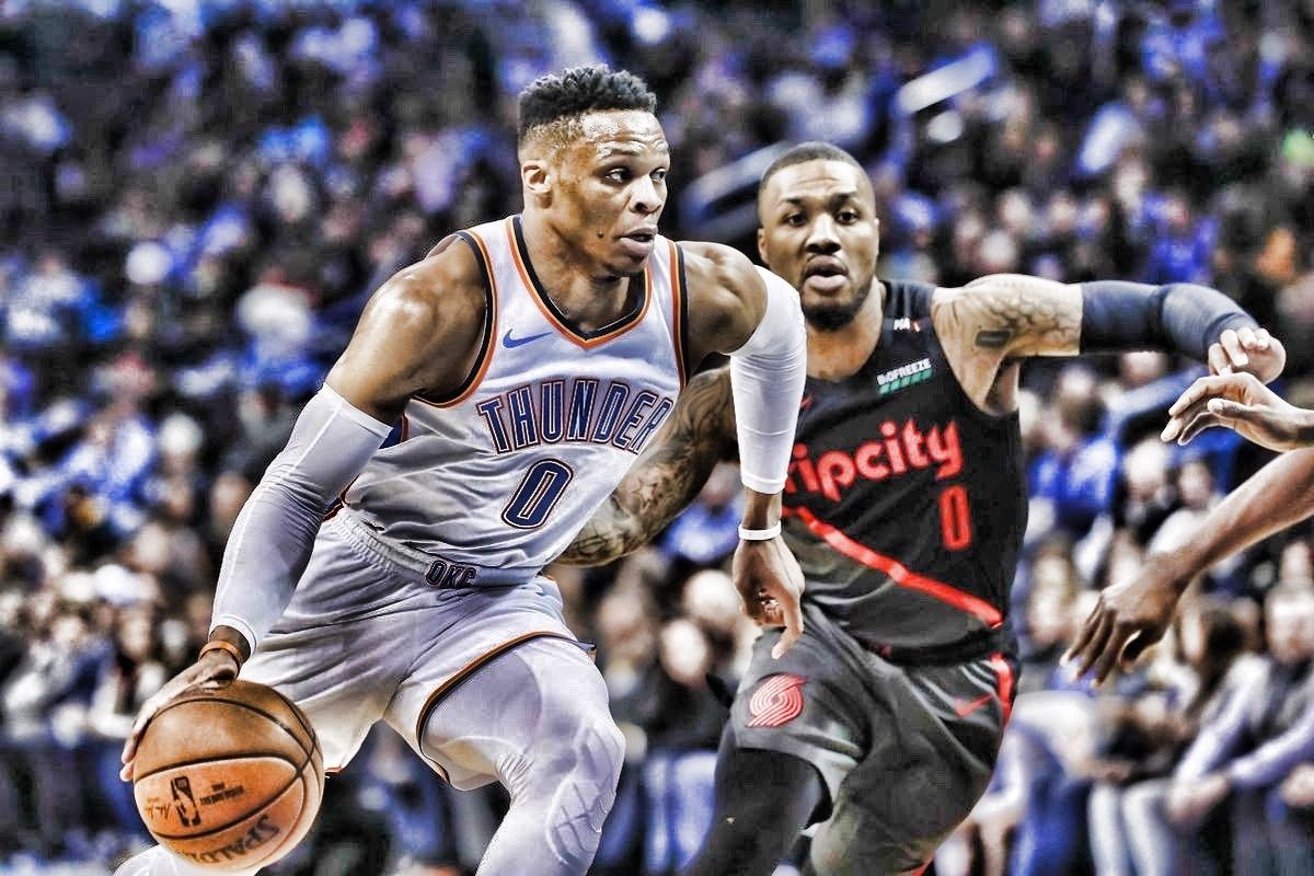NBA Daily Rundown: Westbrook's triple-double in heated win against Blazers, and Kawhi-less Raps make light work of Kings