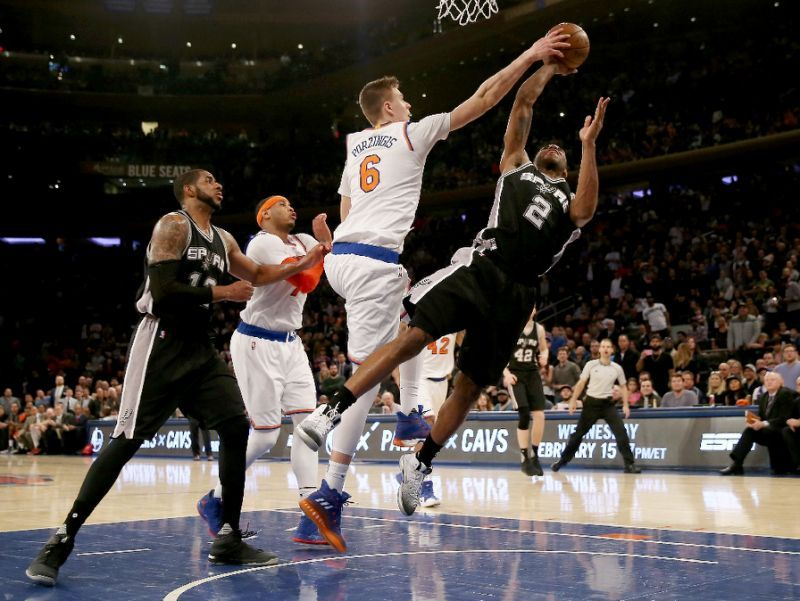 San Antonio Spurs expressing 'significant interest' on Knicks' Kristaps Porzingis
