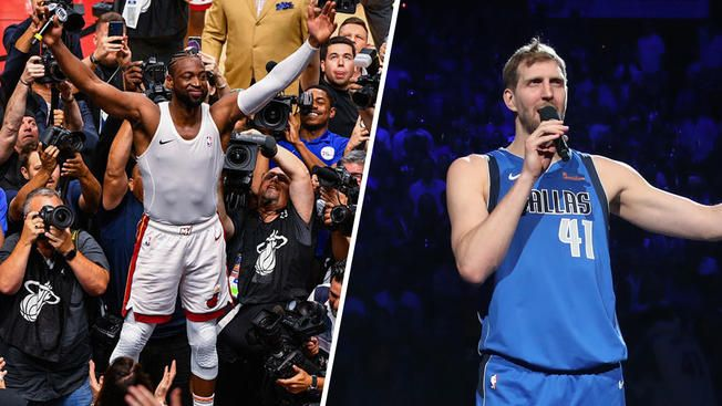 NBA Daily Rundown: Dirk And Wade Play Their Final Home Games