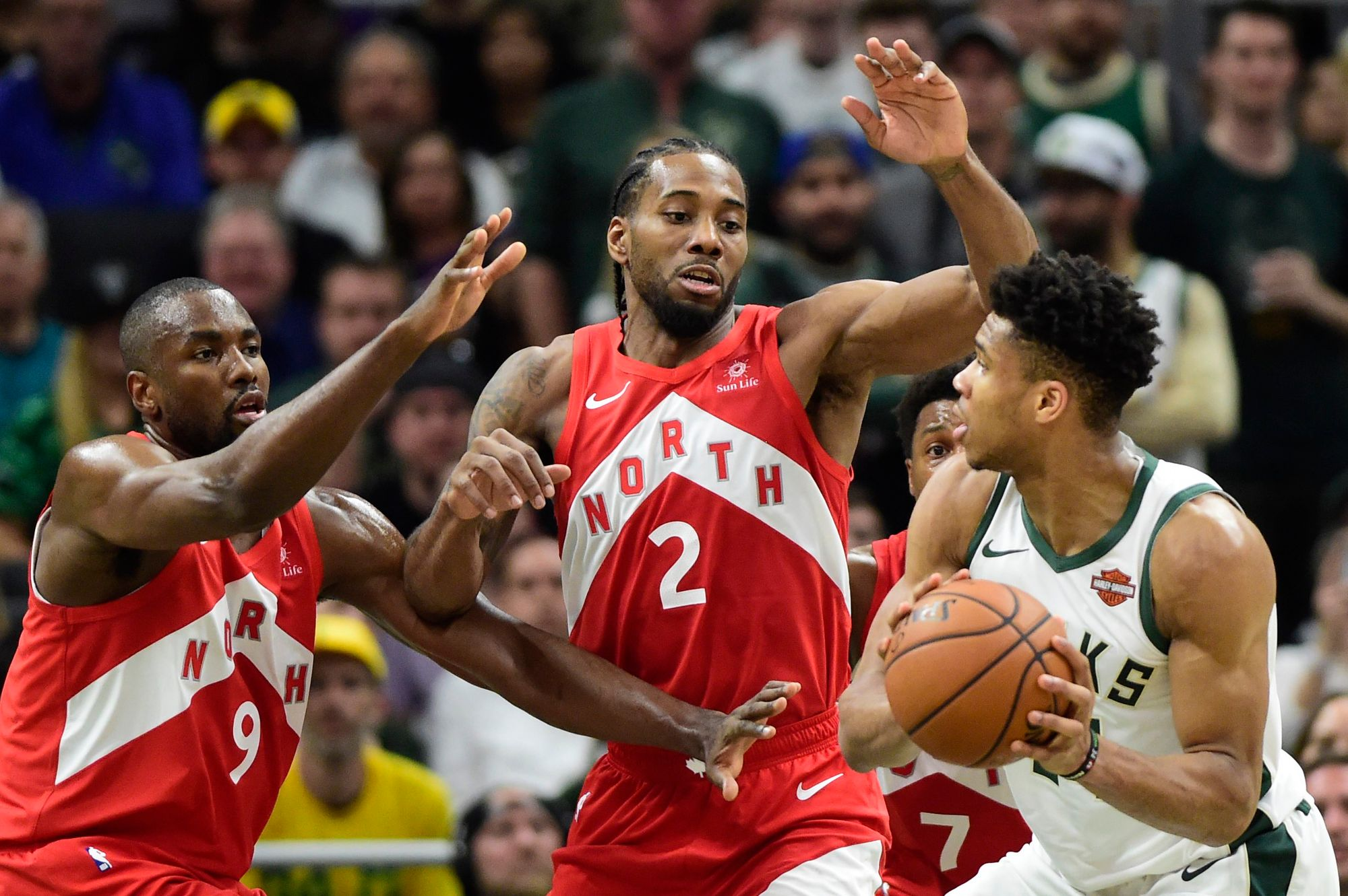 NBA Daily Playoff Rundown: Raptors Steal Pivotal Game 5 Victory At Milwaukee