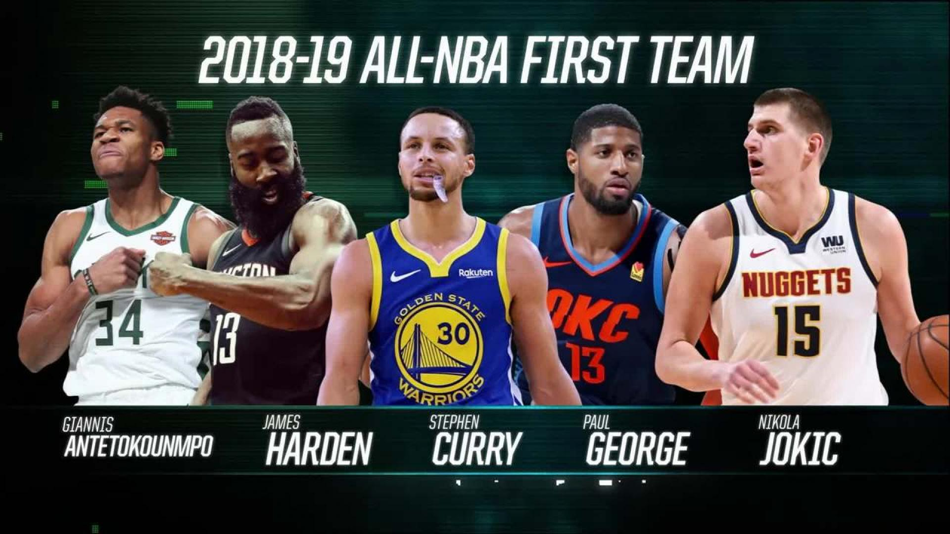 Top Takeaways from the 2019 All-NBA Teams: LeBron's Streak Ends