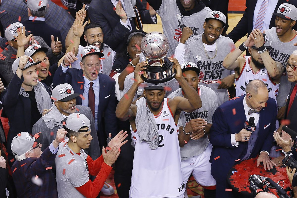 NBA Daily Playoff Rundown: Raptors Win East And Earn First NBA Finals Appearance